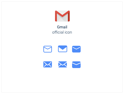Gmail icon exploration